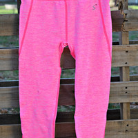 Activewear Leggings - Neon Pink