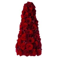 Smith & Hawken™ Curled Wood Tree with Berries Red - 15""