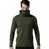 Mens Tactical Fleece Hoodies Military Hooded Sweatshirt