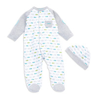 Kids'   Newborn Boys 0-9 Months   Baby Boys Fast Cars Footie Pajamas   Lord and Taylor