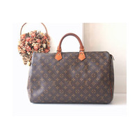 Louis Vuitton Bag Speedy 40 Monogram Vintage Handbag