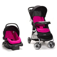Cosco Lift and Stroll Plus Travel System - Very Berry - TR372DFN
