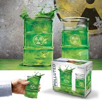 POLLUTED Glasses - Set of 2