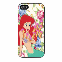 Disney The Little Mermaid Ariel Floral Disney Princess iPhone 5 Case