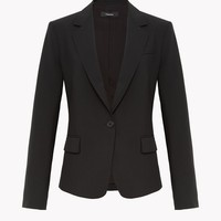 Good Wool Long Blazer