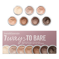 bareMinerals® '7 Ways to Bare' Eyecolor Collection ($77 Value) | Nordstrom
