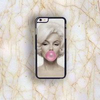 Dream colorful Dream colorful Marilyn Monroe Bubble Gum Plastic Phone Case For iPhone iPhone 6 Plus