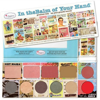 In the Balm of Your Hand theBalm Blush Bronzer Palette