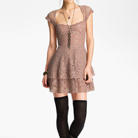 Free People Tiered Lace Dress | Nordstrom