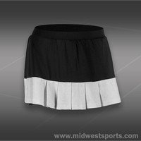 Tail Divine Wine Pleated Skirt