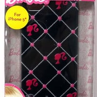 Barbie Back Cover for iPhone 5/5s - Retail Packaging - Black
