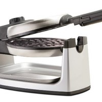 BELLA 13278 Rotating Waffle Maker, Stainless Steel