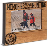Hunting People Picture Photo Frame