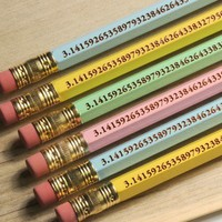 The Pi Pencil Pi Day Class Pack - 30 Pencils Free Domestic Shipping