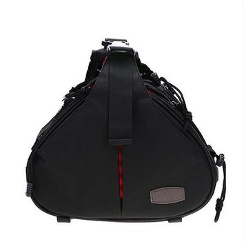 Sling Shoulder Camera Bag for DSLR Sony Canon Rebel Powershot, Nikon Coolpix, Olympus, Pentax, Sony With Tripod Holder
