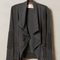 Converge Quilted Moto Cardigan by Staci Woo