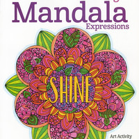Design Originals Creative Coloring Mandala Expressions Adult Coloring Book