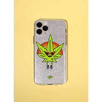 Weed Be Good Together Glitter Cell Phone Case