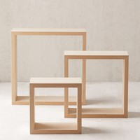 3-Piece Square Stacking Shelf Set | Urban Outfitters