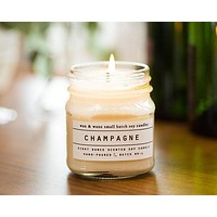 Wax and Wane Candles - Champagne Candle