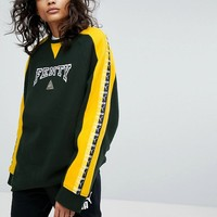 Puma X Fenty Crew Neck Pullover With Taping at asos.com