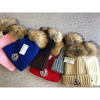 Moncler Hat With Removable Pom #2438
