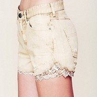 Embroidered Hanky Cutoff