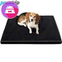 Memory Foam Dog Beds Waterproof Oxford Bottom Orthopedic Mattress Beds For Large Dogs ML/XL