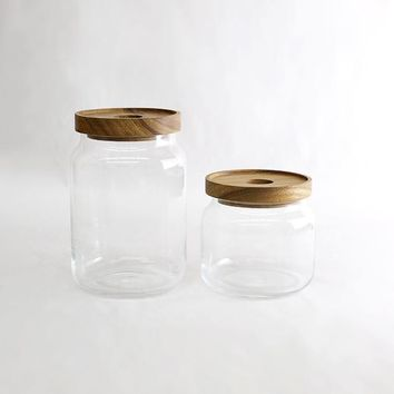 Merchant no. 4 - Mouth Blown Glass Jars - New