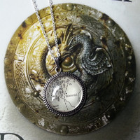Game of Thrones 'Winterfell' Map Necklace