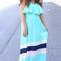Flutter Back Maxi, Mint