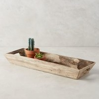 Landstead Tray by Anthropologie in Natural Size: One Size Decor