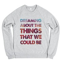 One Republic Sweater-Unisex Heather Grey Sweatshirt