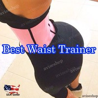 Workout Waist Trainer Training Corsets Hot Shapers Body Shaper Waist Cincher Belt