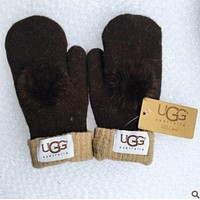 UGG winter women's stylish trendy gloves F