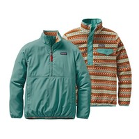 Patagonia Women's Reversible Snap-T® Glissade Pullover