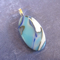 Modern Pendant, Colorful Pendant, Slider Jewelry, Handmade Jewelry on Etsy - Cierra - 4190 -3