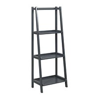"""60"""" Bookcase with 4 Shelves in Graphite"""