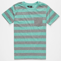 Shouthouse Lee Boys Pocket Tee Mint  In Sizes