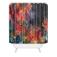 Stephanie Corfee Bursting Heart Shower Curtain