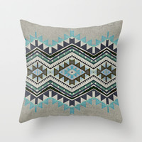 sea stones Throw Pillow by SpinL