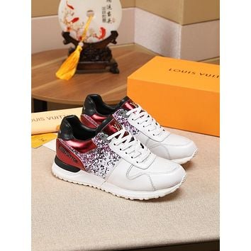 lv louis vuitton womans mens 2020 new fashion casual shoes sneaker sport running shoes 142