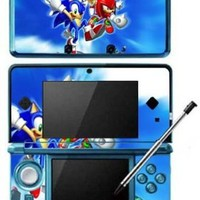 Sonic The Hedgehog Game Skin for Nintendo 3DS Console