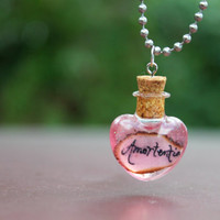 SALE Amortentia Potion with Handmade Label from Harry Potter