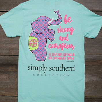 Strong & Courageous Tee | Simply Southern