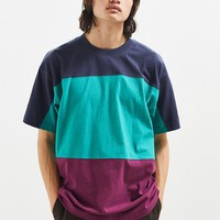UO Tri-Blocked Stock Tee | Urban Outfitters