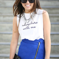 Adventure with Me Tee