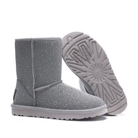 Women's UGG snow boots women's Middle boots DHL _1686248855-476