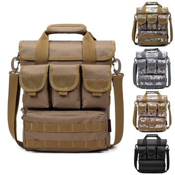 Durable Outdoor Single Shoulder Military Tactical Backpack Oxford Camping Travel Hiking Trekking Runsacks Bag