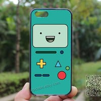 Adventure time bmo,iphone 4/4s case,Death Skeleton Side iphone 5 case,iphone 5s case,iphone 5c case,Christmas Gift,Personalized